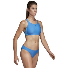 adidas Fit 3-Stripes Infinitex Bikini Women, true blue